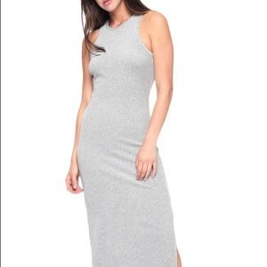 Juicy couture track stretch velour tank dress